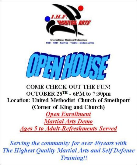 10-28 Martial Arts Demo, Smethport, PA