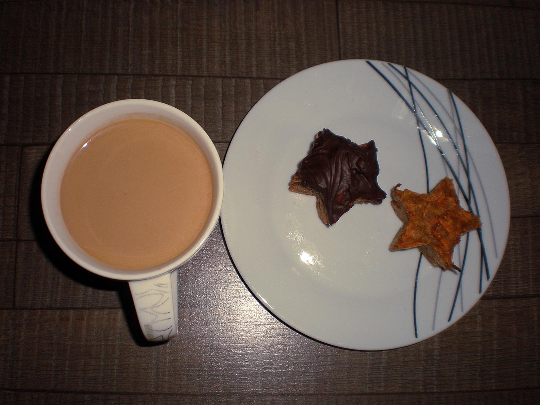 Muffinki gwiazdki i kawa