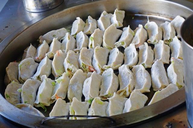 葷素早餐(素煎餃)~花連素食早餐