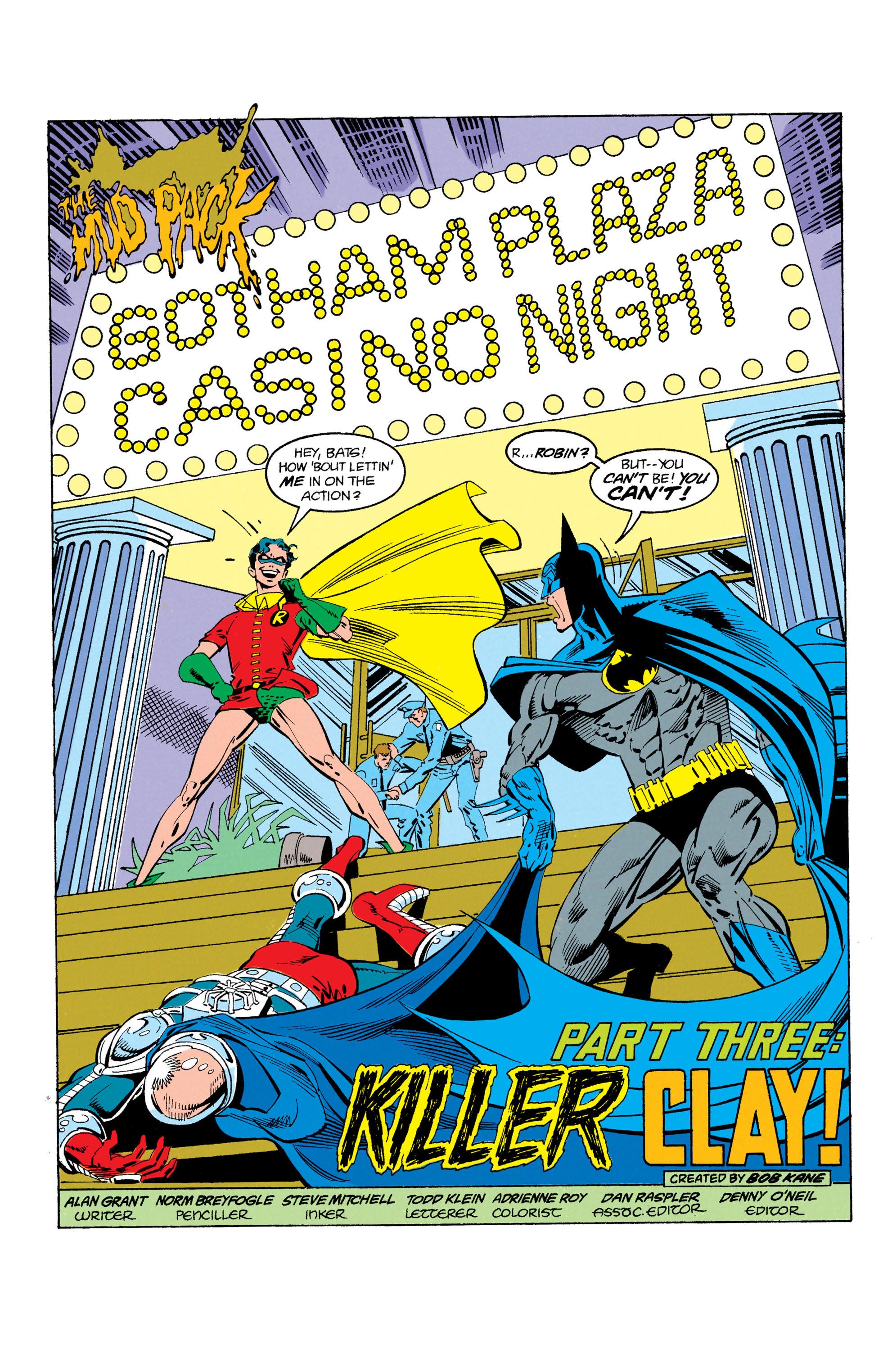 Detective Comics (1937) 606 Page 1