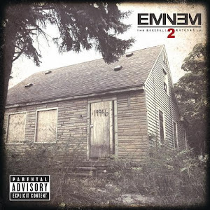 1383165390 front - Eminem – The Marshall Mathers LP 2
