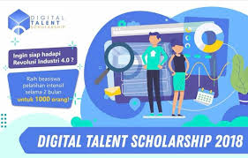 Digital Talent Scholarsip 2018