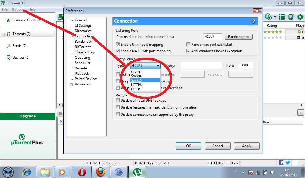 Utorrent And Proxifier Download