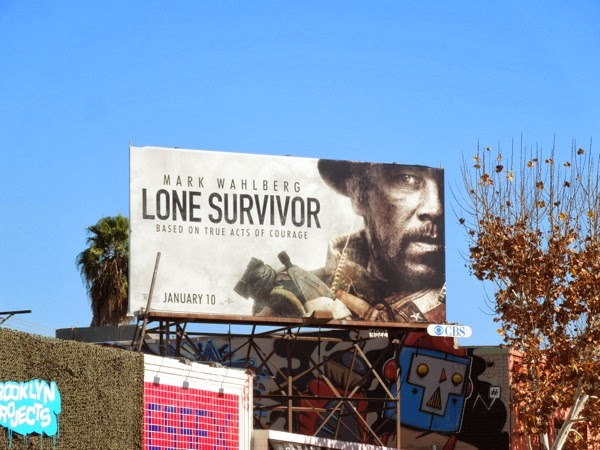 Lone Survivor movie billboard