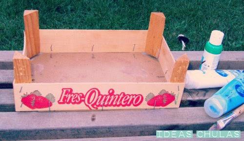 Decorar una caja frutas ideas chulas - Decorar caja de fruta ...