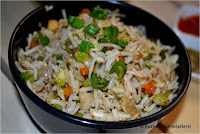 VEGETABLE FRIED RICE RECIPE- CHINESE RECIPES