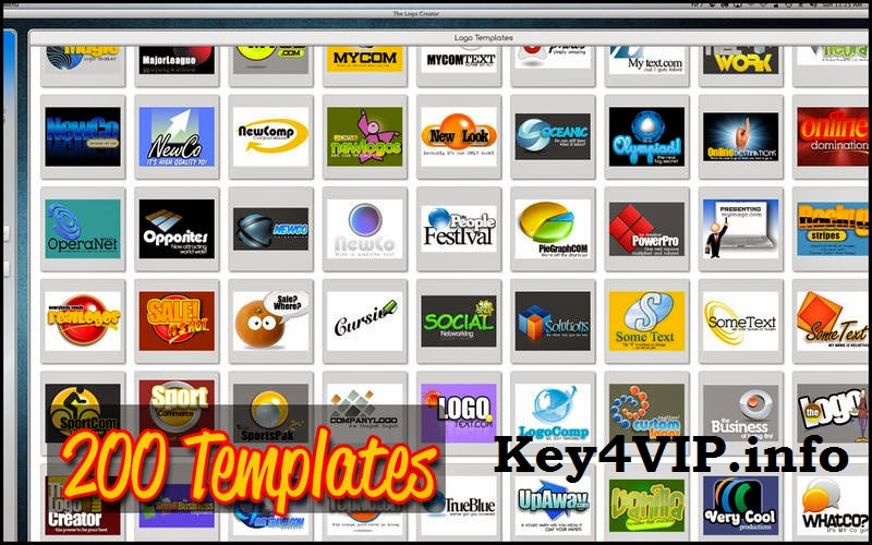 Laughingbird The Logo Creator 6.8 for Mac,Phần mềm thiết kế Logo tuyệt vời