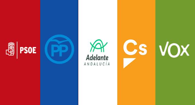 Descalabro electoral del PSOE en Andalucía