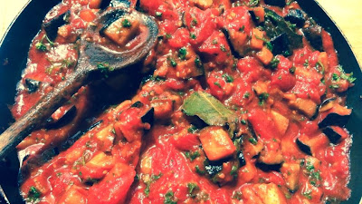 aubergine, claudia roden, cooking for groups, courgette recipes, family foodies, imam bayildi, middle eastern food, tomato recipes, vegetarian, vegetarian recipes,