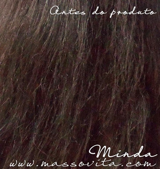 Minda - cabelo -antes