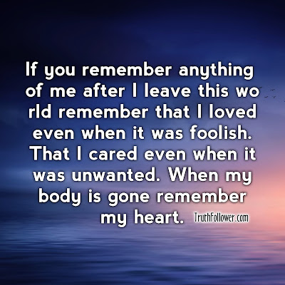 Remember my heart