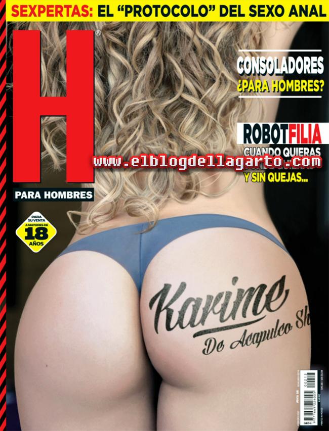 Karime de Acapulco Shore - H para Hombres
