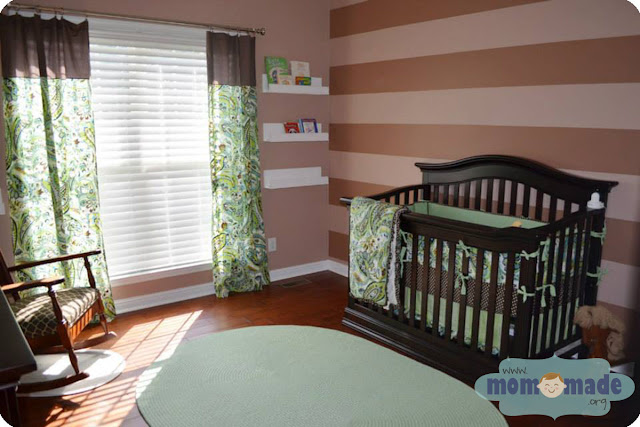Curtain Panels, Blanket, Bumper Pads, Fitted Sheet, & Crib Skirt