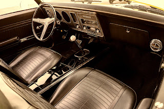 1969 Pontiac Firebird Sport Coupe Dashboard