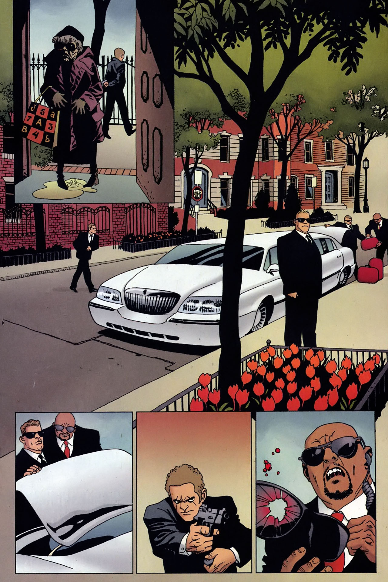 Read online 100 Bullets comic -  Issue #93 - 14