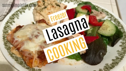 make ahead freezer meal recipes, easy lasagna
