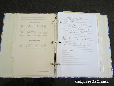 Family Cookbook - Passed down family recipes