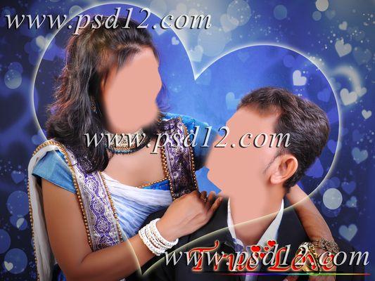 Studio Background for Couple