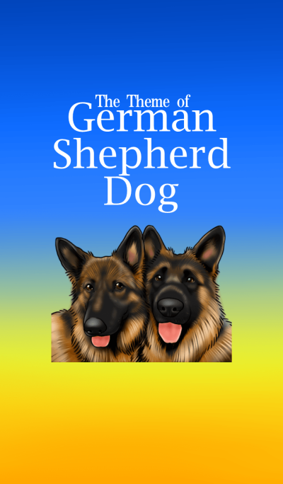 German Shepherd Dog.