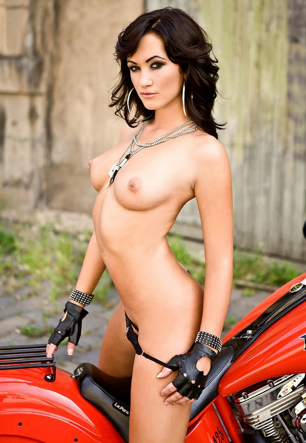 Nude Women And Motorcycles