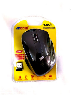 mouse wireless senza fili an-216 andowl