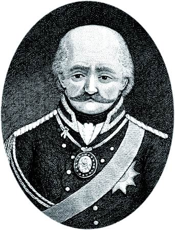 Gebhard Leberecht de Blücher, Fürst (príncipe) von Wahlstatt.
