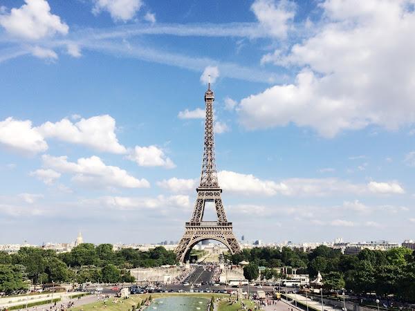 carte postale #6 : PARIS / TROCADERO