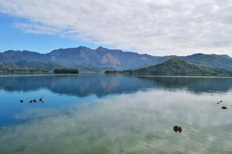 Placid Mapanuepe Lake