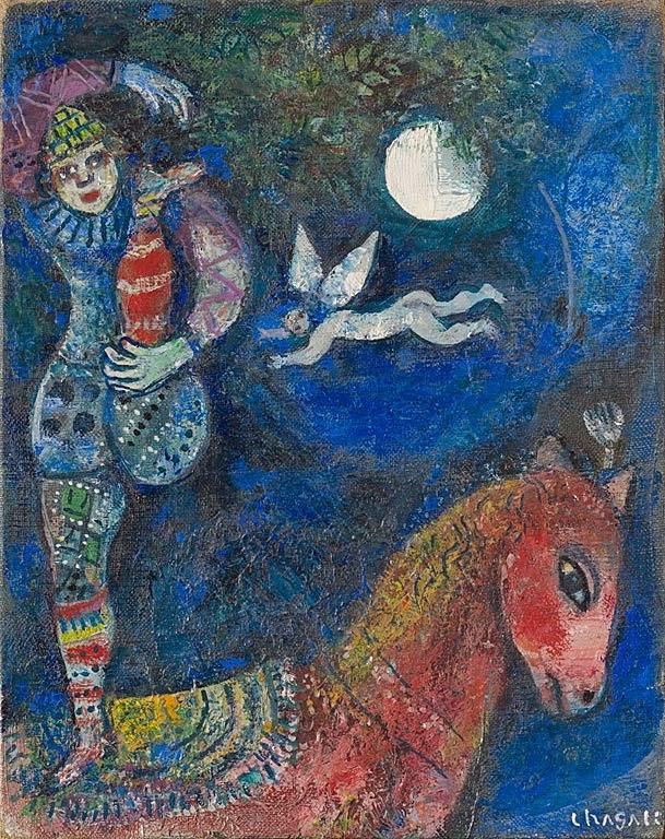 O Cavaleiro no Circo - O Surrealismo glorioso de Marc Chagall