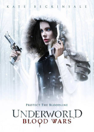 Underworld Blood Wars 2016 HDRip 720p Dual Audio ESub 700Mb Download In Hindi English