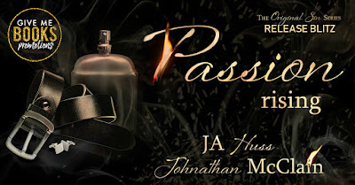 Release Blitz PASSION IS RISING by JA Huss & Johnathan McClain
