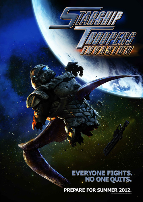 Starship Troopers Invasion Stream