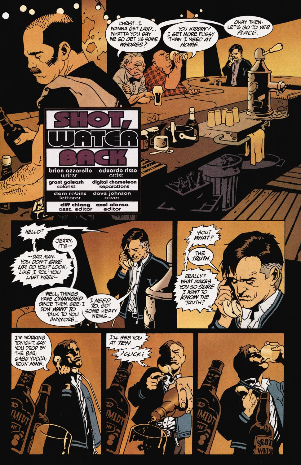 Read online 100 Bullets comic -  Issue #5 - 3