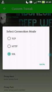 Cara Setting Tweakware Videomax Telkomsel Terbaru