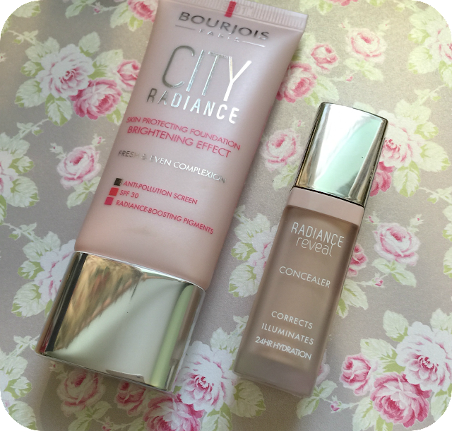 bourjois city radiance foundation and concealer