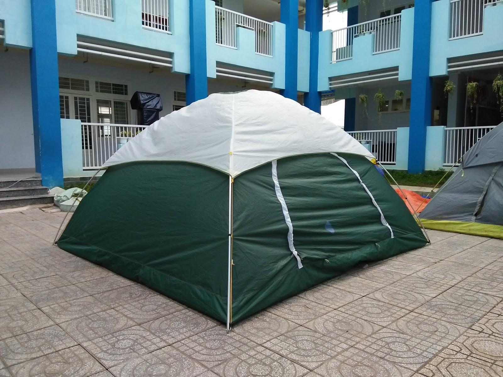 lều cắm trại 12 người tại Chuyên cho thuê