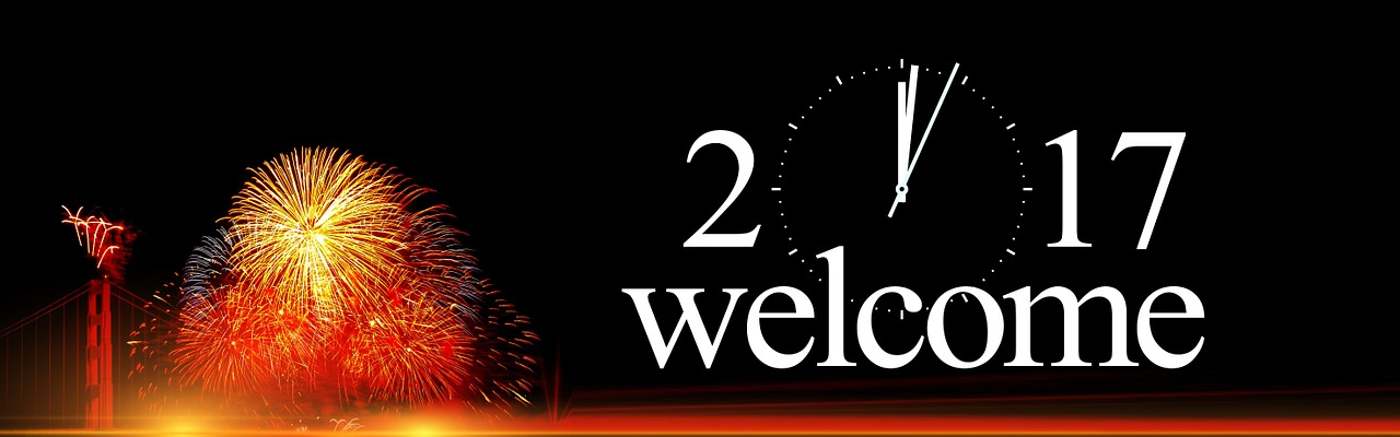 Happy New Year 2017 Banner