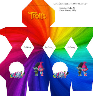 Cajas de Trolls para imprimir gratis.