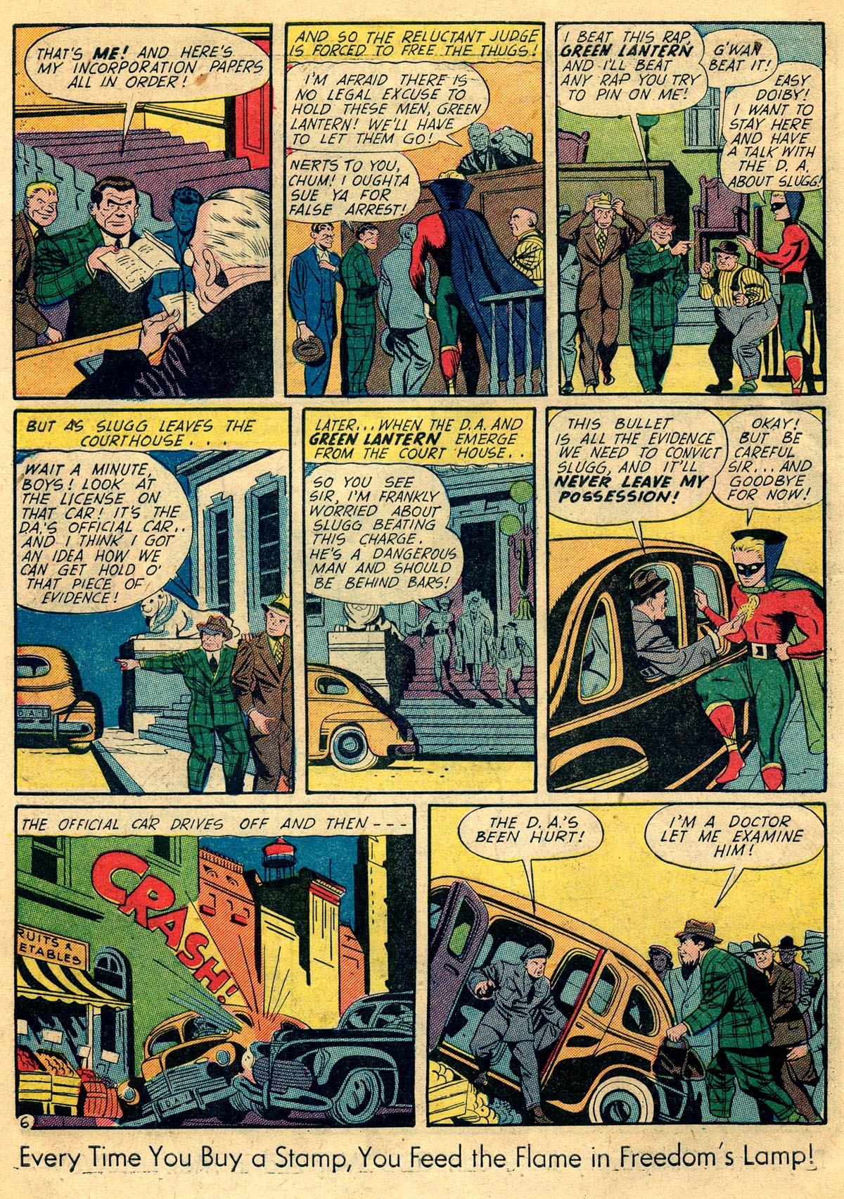 Read online All-American Comics (1939) comic -  Issue #60 - 8