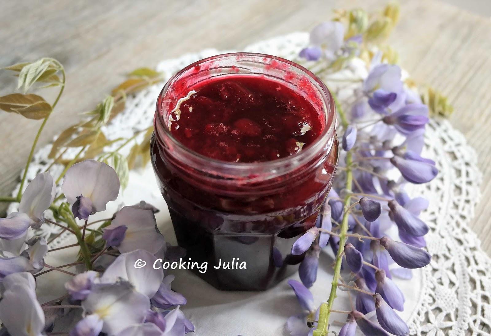 confiture de fraise surgelee