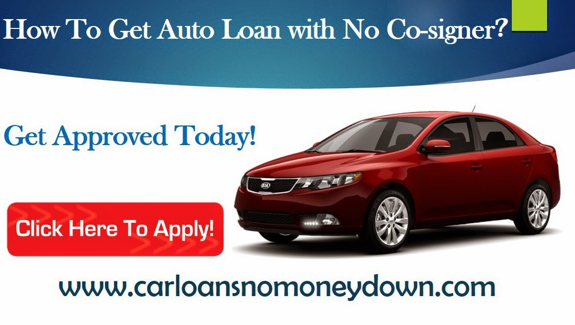 Getting A Car Loan Without A Cosigner