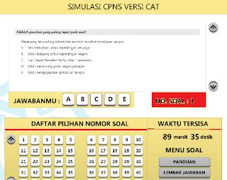 Contoh Soal Tes CPNS 2018 Guru Lengkap (TKD, TIU, TKP, TWK)