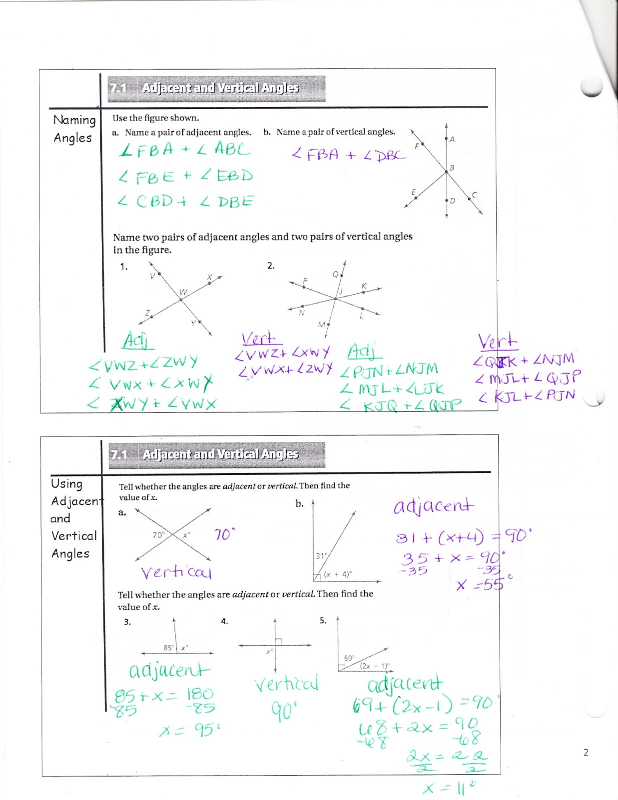 Ms Jean S Classroom Blog Math 7 Chapter 7 1 Adjacent And