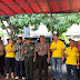 Kapolsek Tambora Hadiri Kegiatan Bakti Sosial Bersama Bank Jasa Jakarta