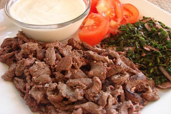 شاورما لحم تركية