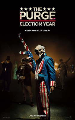 The Purge Election Year 2016 James DeMonaco