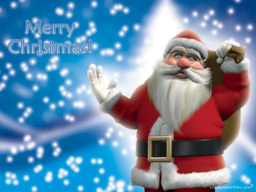 Free Wallpaper: Santa Claus Wallpaper - Santa Claus Belletrist And Added Christmas Traditions
