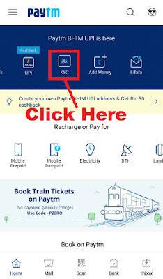 paytm kyc registration online