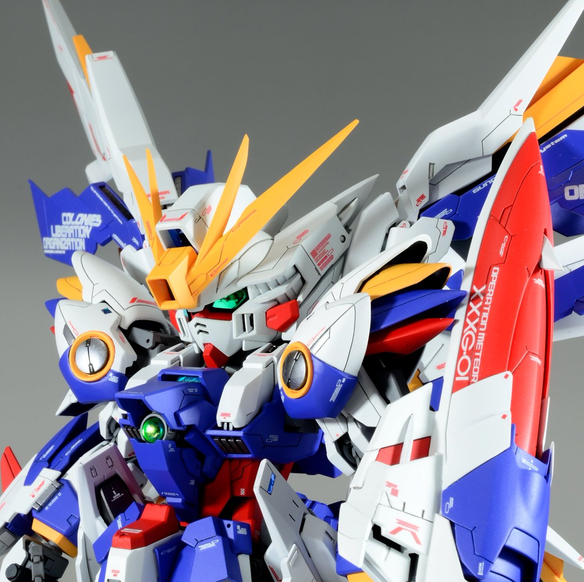 Wing gundam Dominion SD GBWC Japan 2016