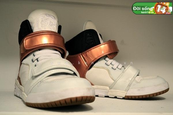 Bộ sưu tập giày sneaker tột đỉnh của anh chàng việt tại mỹ bạn nữ nào cũng m15ê